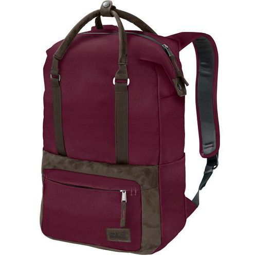Jack Wolfskin Tuscon Plecak Kobiety czerwony 2018 Plecaki szkolne i turystyczne, kolor brązowy