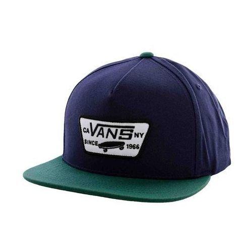 czapka z daszkiem VANS - Full Patch Snapbac Black Iris/Trek (H6V) rozmiar: OS