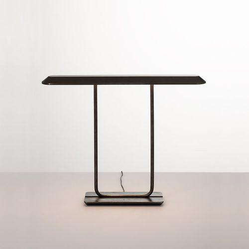 TEMPIO-Lampa stojąca Aluminium i Stal Wys.37cm (3663710151096)