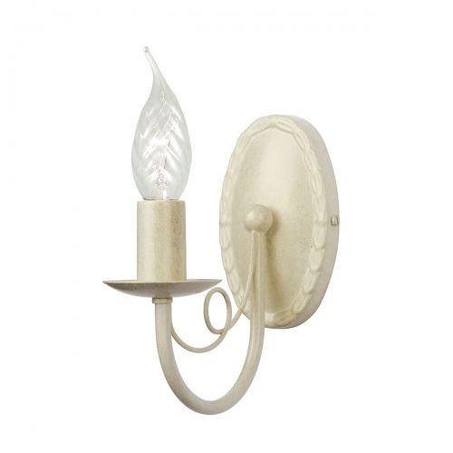 Minster Ivory/Gold Kinkiet Elstead MN1 IV/GOLD 8cm kremowy-złoty
