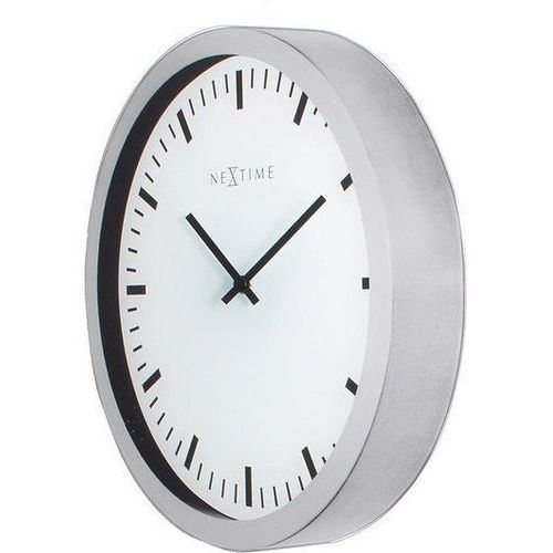 Zegar ścienny Magic Nextime (3031), kolor biały
