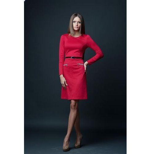 Sukienka model angela red marki Vera fashion