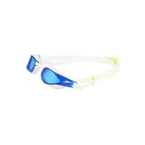 Speedo fastskin elite okulary pływackie biały okulary do pływania
