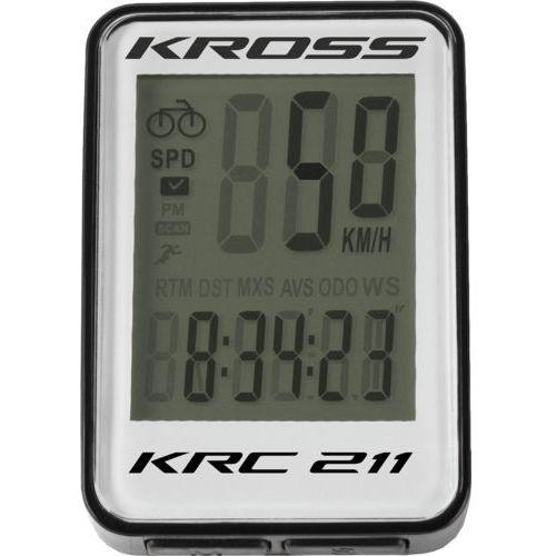 Licznik rowerowy krc 211 11 funkcji marki Kross