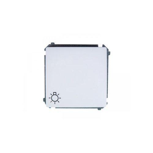 SIMON BASIC Przycisk światło (moduł) 16AX, 250V~, szybkozłącza; biały BMS1A.01/11 WMUL-080x2x-1011 (5902787542658)