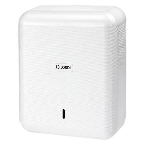 Podajnik ręczników papierowych ABS ECO-LUXE Biały Pojemnik na ręczniki, dozownik do ręczników