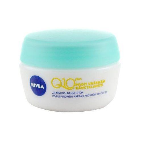 Nivea Q10 Plus Softening Day Cream 50ml W Krem do twarzy do skóry mieszanej