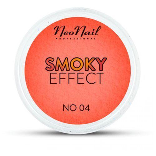 OKAZJA - NeoNail SMOKY EFFECT Pyłek No 04 (pomarańczowy/czerwony)