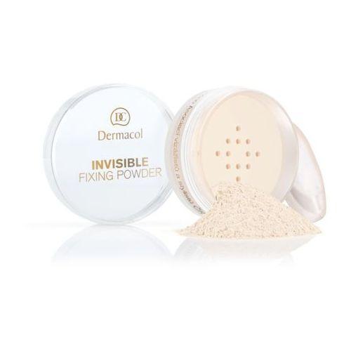 Dermacol invisible fixing powder | utrwalający puder transparentny - natural 13,5ml. Najniższe ceny, najlepsze promocje w sklepach, opinie.