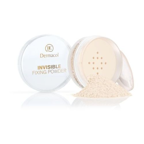 invisible fixing powder   utrwalający puder transparentny - natural 13,5ml marki Dermacol