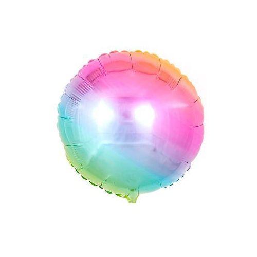Flexmetal balloons Balon foliowy okrągły ombre pastelowy - 46 cm - 1 szt. (8435102303384)