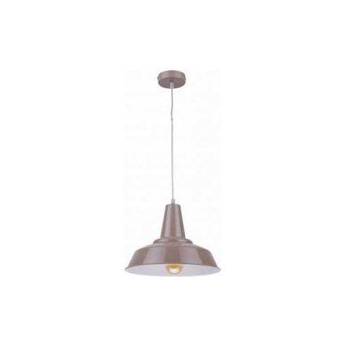 Tklighting Tk lighting bell 1284 lampa wisząca zwis 1x60w e27 beżowy (5901780512842)
