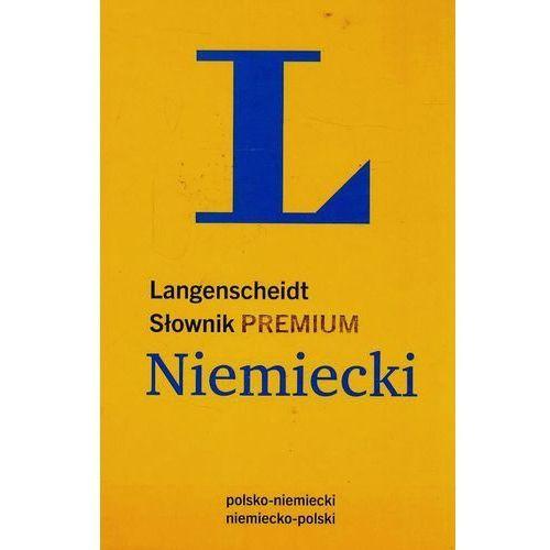 Słownik PREMIUM polsko-niemiecki, niemiecko-polski (rok 2014)