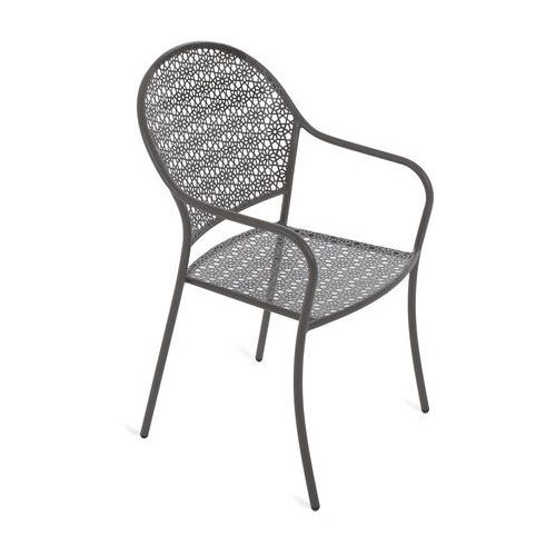 Krzesło ogrodowe metalowe maja grey marki Home & garden