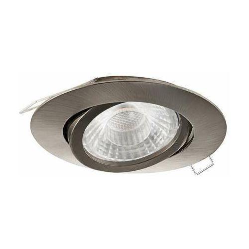 Eglo tedo 1 98642 oczko lampa wpuszczana downlight 1x5w gu10 nikiel