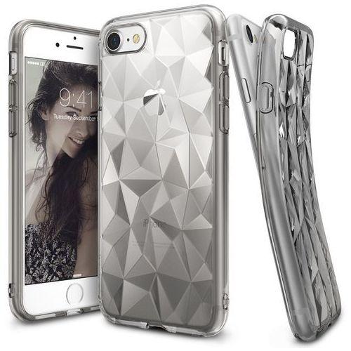 Etui Rearth Ringke Air Prism Apple iPhone 7, Smoke Black (przydymiony) + Folia (8809525011520)