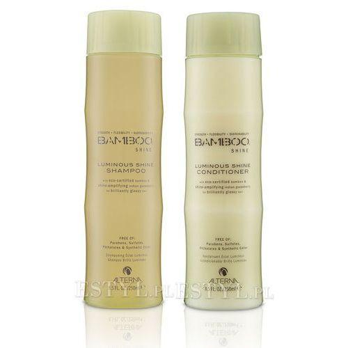 Alterna  bamboo shine zestaw nabłyszczający: szampon 250ml + odżywka 250ml (9753197531312)