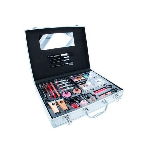 beauty unlimited train case zestaw complete makeup palette dla kobiet marki 2k