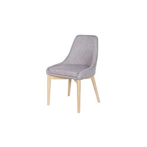 WOOOD:: Krzesło KOBE jasnoszare - jasnoszary, kolor szary