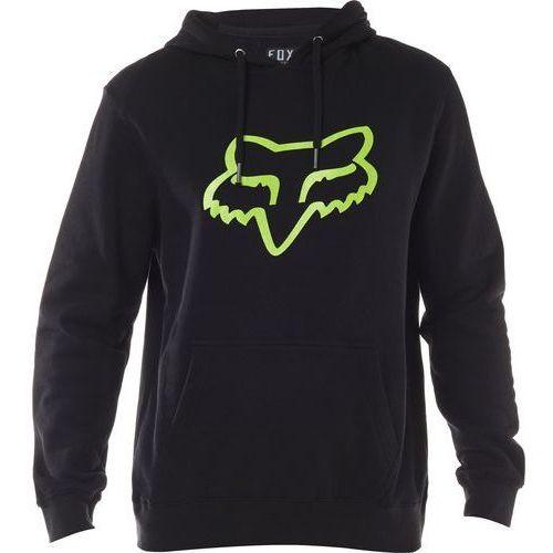Fox Bluza  z kapturem legacy fox head black/green