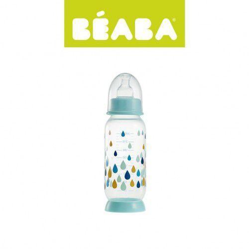 Beaba  butelka antykolkowa 330 ml rainbow blue (3384349115685)