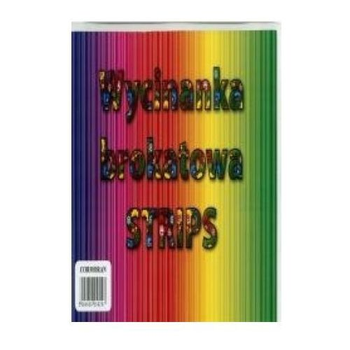 Cormoran Wycinanka brokatowa a4 strips (5906609058297)