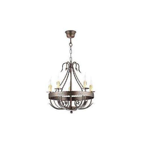 Lampa wisząca LOARA 5xE14/60W/230V, 0746
