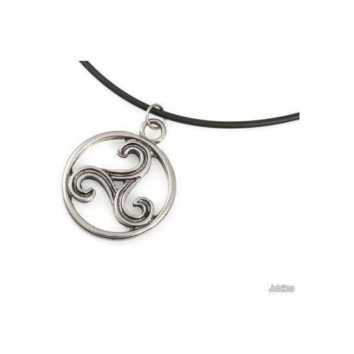 WISIOREK TRISKELION CELTYCKI amulety talizmany celtic kauczuk, aj888