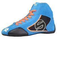 Sparco Buty męskie sneakersy yas-mid niebieskie