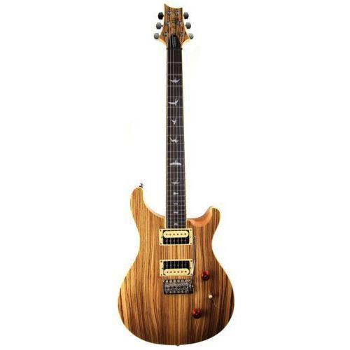 Prs 2017 se custom 24 zebrawood - gitara elektryczna, edycja limitowana