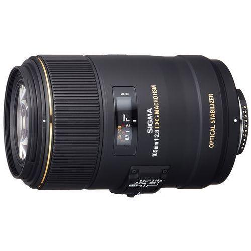 105 mm f/2,8 ex dg os hsm macro nikon marki Sigma