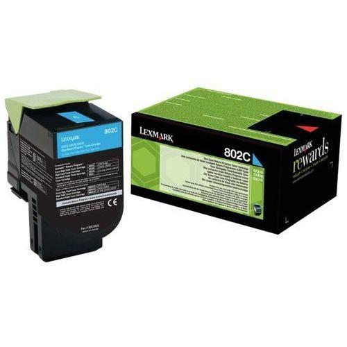 Lexmark toner cyan 802ce, 80c20ce (return)