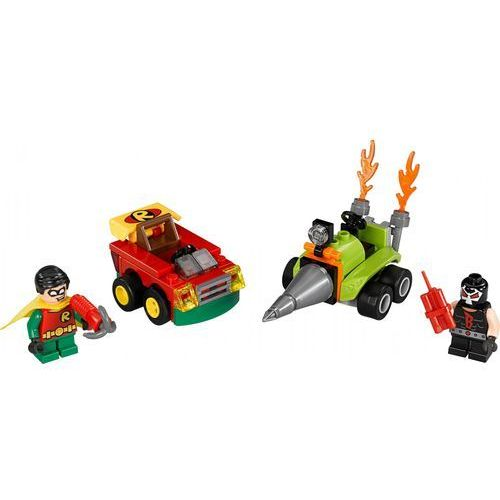 Lego SUPER HEROES Zestawy mighty micros: robin vs. bane 76062