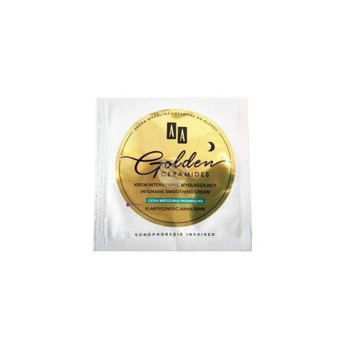Próbka golden ceramides (w) krem intensywnie wygładzający na noc cera mieszana/normalna marki Aa