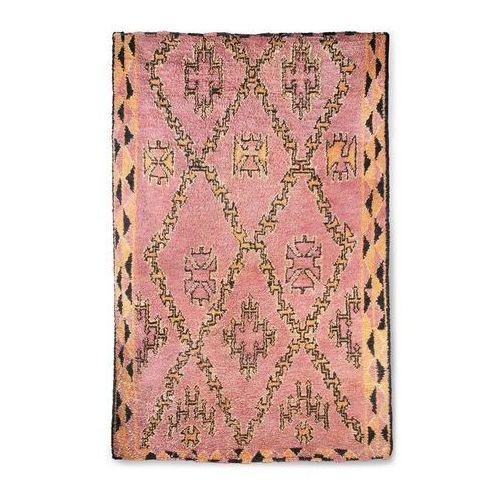 HK Living Ręcznie tkany wełniany dywan berberyjski terra/pomarańczowy (180x280) TTK3042 (8718921033831)