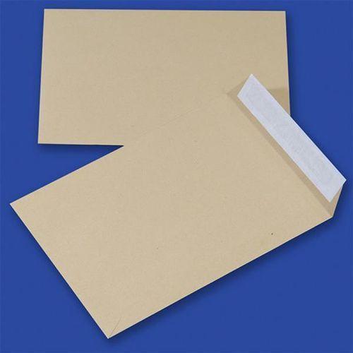 Office products Koperty z taśmą silikonową , hk, b5, 176x250mm, 90gsm, 10szt., brązowe