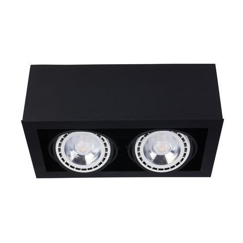 Plafon Nowodvorski Box 9470 II lampa sufitowa oprawa spot 2X75W GU10 ES111 czarny, 9470