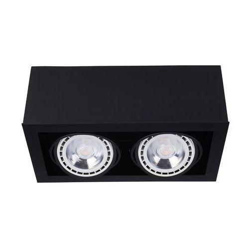 Plafon Nowodvorski Box 9470 II lampa sufitowa oprawa spot 2X75W GU10 ES111 czarny, kolor Czarny