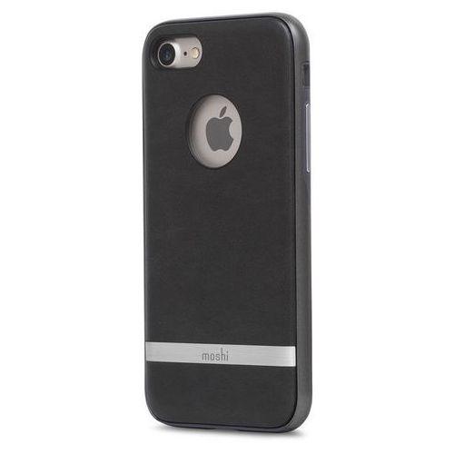 Moshi iGlaze Napa - Etui iPhone 7 (Charcoal Black) Odbiór osobisty w ponad 40 miastach lub kurier 24h, kolor Moshi