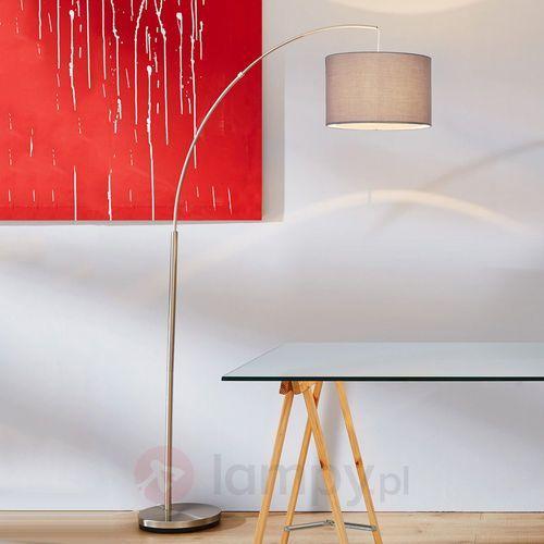 Brilliant Clarie lampa stojąca łukowa Siwy, 1-punktowy - Klasyczny - Obszar wewnętrzny - Clarie - Czas dostawy: od 4-8 dni roboczych, 13258/22