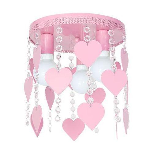 Lampa dziecięca ELZA hearts 3xE27/60W/230V (5902693746249)