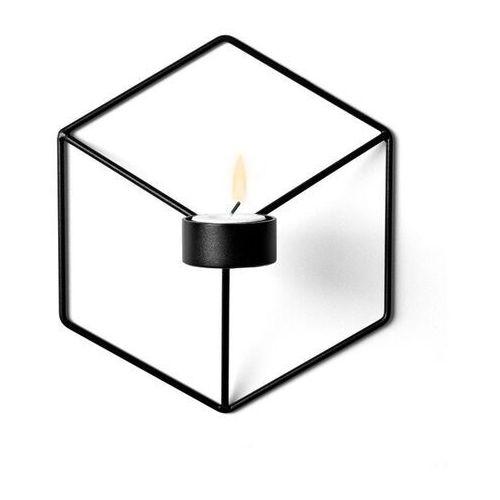 - świecznik wall - czarny marki Menu