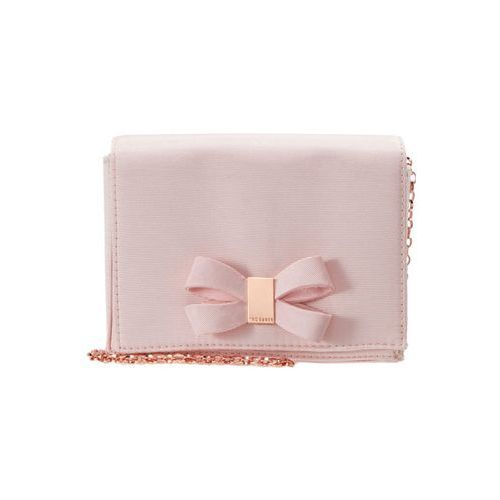 Ted Baker STACYY LOOPED BOW EVENING BAG Torba na ramię light pink