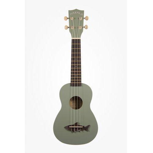 Kala Makala Shark SS-GRY ukulele sopranowe, szare