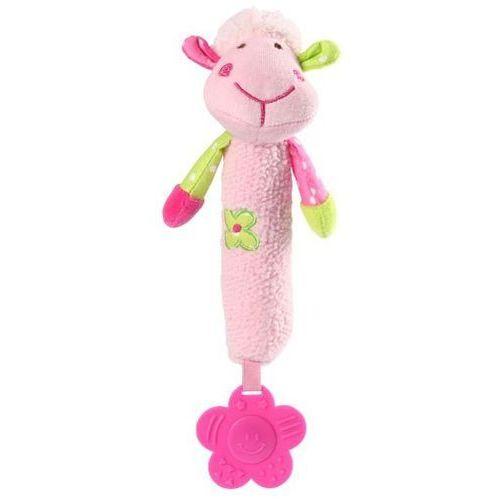 Babyono Zabawka piszcząca gryzak owieczka 996 (5904341206778)