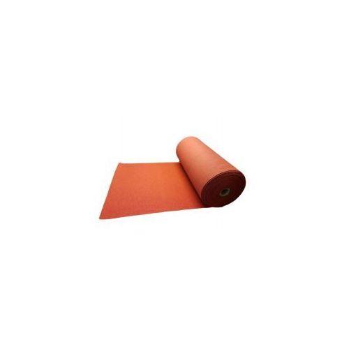 Filc melanż czerwony 600g/m2 włóknina 4mm pp 0,5m2 impregnowany, marki Niedostępny