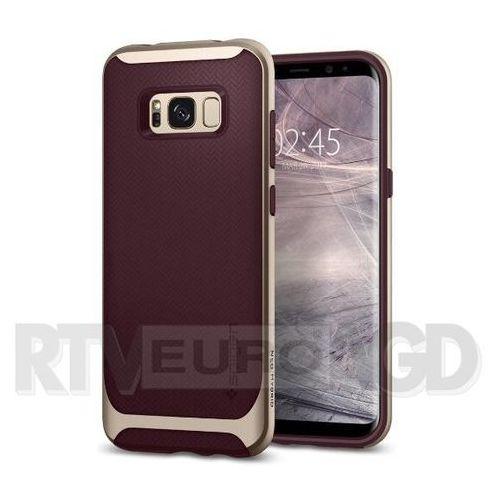 Spigen Neo Hybrid 565CS21597 Samsung Galaxy S8 (burgundy), kolor czerwony