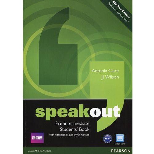 Speakout Pre-Intermediate, Student's Book (podręcznik) plus Active Book plus MyEnglishLab (2012)