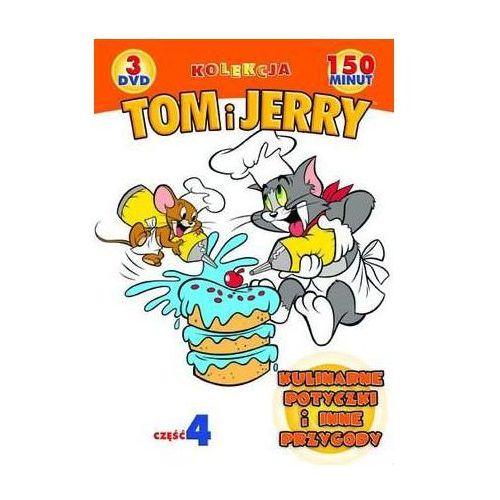 Galapagos films Tom i jerry: kulinarne potyczki i inne przygody. kolekcja - część 4 (3xdvd) - galapagos (7321909311411)
