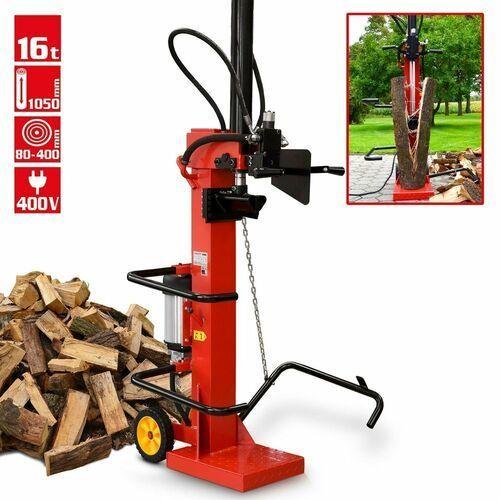 Hecht czechy Hecht 6160 łuparka do drewna hydrauliczna elektryczna pionowa rębak 16 ton